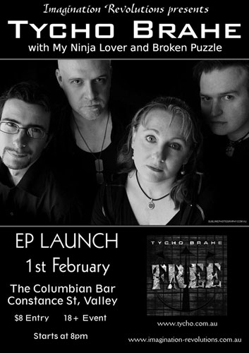 free launch gig poster - click for larger version
